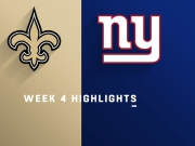 Highlights: Saints vs. Giants