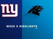Highlights: Giants vs. Panthers