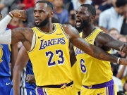 LeBrons Halfcourt-Buzzerbeater - Lakers-Ausrufezeichen