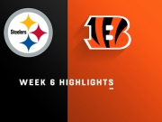 Highlights: Steelers vs. Bengals
