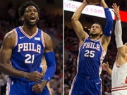 Triple-Double Simmons & Double-Double Embiid = Sieg Sixers