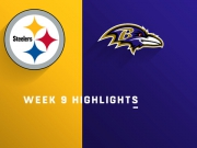 Highlights: Steelers vs. Ravens