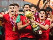 Hulk, Oscar & Co. feiern die Meisterschaft in China