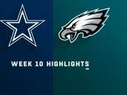 Highlights: Cowboys vs. Eagles