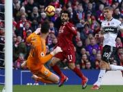 Salah trifft 14 Sekunden nach Fulhams Abseitstor
