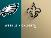 Highlights: Eagles vs. Saints