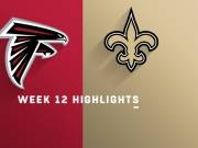 Highlights: Falcons vs. Saints