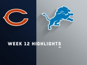 Highlights: Bears vs. Lions