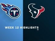 Highlights: Titans vs. Texans