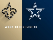 Highlights: Saints vs. Cowboys