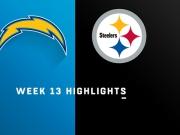Highlights: Chargers vs. Steelers