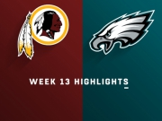 Highlights: Redskins vs. Eagles