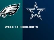 Highlights: Eagles vs. Cowboys