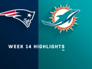 Highlights: Patriots vs. Dolphins