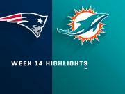 Highlights: Patriots vs. Dolphins