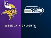 Highlights: Vikings vs. Seahawks