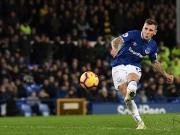 Traum-Freistoß: Digne sichert Everton den Punkt