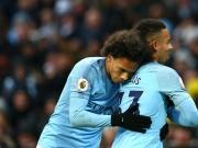 Neuntes Heimspiel, neunter Sieg: Sané assistiert Jesus doppelt
