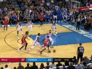 GAME RECAP: Thunder 121, Bulls 96