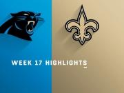 Panthers vs. Saints highlights | Week 17