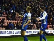 Perfekter Flugkopfball und mehr: Wigan atmet auf