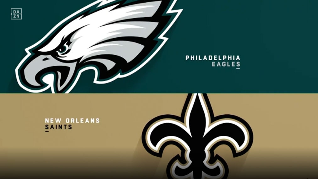 Highlights: Eagles vs. Saints | NFL, NFC Divisional Round by DAZN | Video - kicker