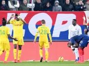 Fragwürdiger Elfmeter in Unterzahl - Nantes im Glück