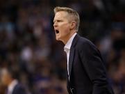 Warriors unterliegen - Coach Kerr fliegt aus der Halle