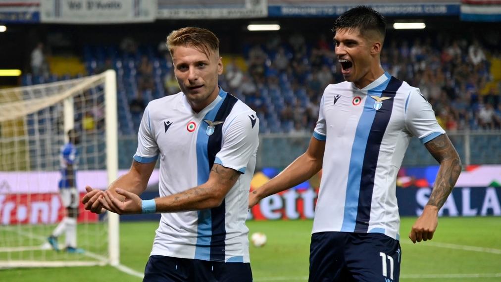 Feiner Lupfer: Lazio dreht mit Immobile auf