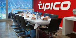 Interactive-Gesamtsieger und zehn Freunde wartet ein Heimspiel des Hamburger SV in der tipico-Loge des Volksparkstadions
