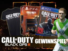 Schnappt Euch das Call of Duty: Black Ops III-Fanpaket mit der Unterschrift von André Schürrle.