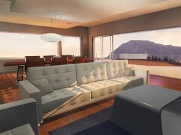 Dank guter Beleuchtungs-Technik sollen auch Innenräume gut dargestellt werden können.