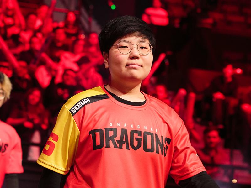 Shanghai: 'Geguri' bleibt bei den Shanghai Dragons.