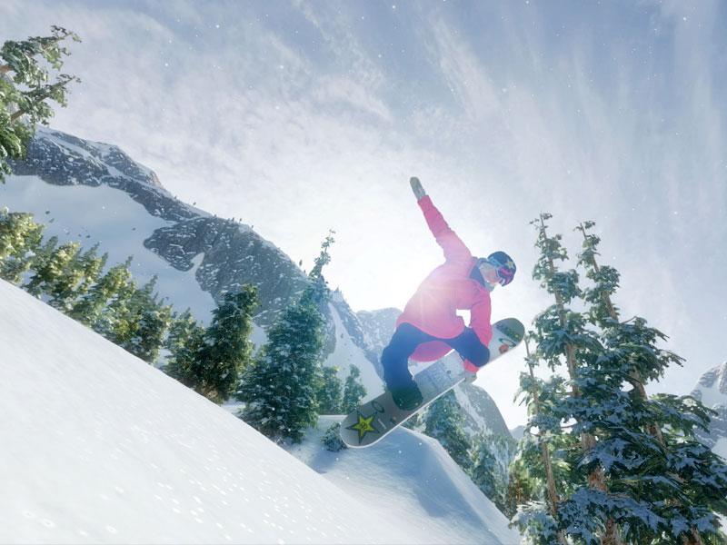 : Zusammen mit Steep brach Mark McMorris Infinite Air eine Lanze für das Wintersport-Genre
