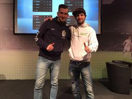 Auf der DreamHack Leipzig erreichte STYLO (li.) den zweiten Platz und musste sich im Finale nur Erhan Kayman geschlagen geben.