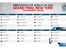 So sehen die acht Gruppen für das FIWC-Finale aus.