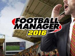Aktuell der Beste auf dem Markt: Der Football Manager 2016 von SEGA.