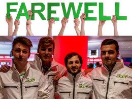Team Acer macht dicht. Die Organisation hat seinen Abschied verkündet. Wo nun die Spieler unterkommen, bleibt fraglich.