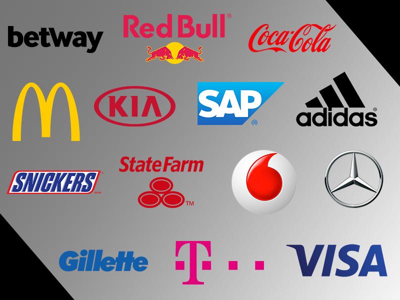 Große internationale Unternehmen sponsern heutzutage eSport-Teams oder Ligen.