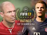 Die Top 20-Bundesligaspieler in FIFA 17!