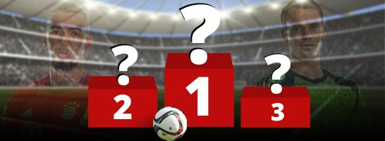 Wer ist der beste Spieler bei FIFA 16? Hier geht's zu unserer Abstimmung.