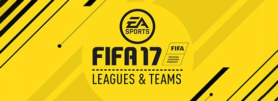EA SPORTS veröffentlicht die vollständige Liste der FIFA-Teams!