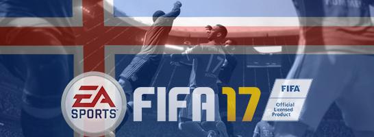 Die isländische Nationalmannschaft wird auch in FIFA 17 nicht spielbar sein.