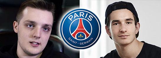 August 'Agge' Rosenmeier (re.) und Spencer 'HugeGorilla' Ealing sollen zu Paris St. Germain wechseln.