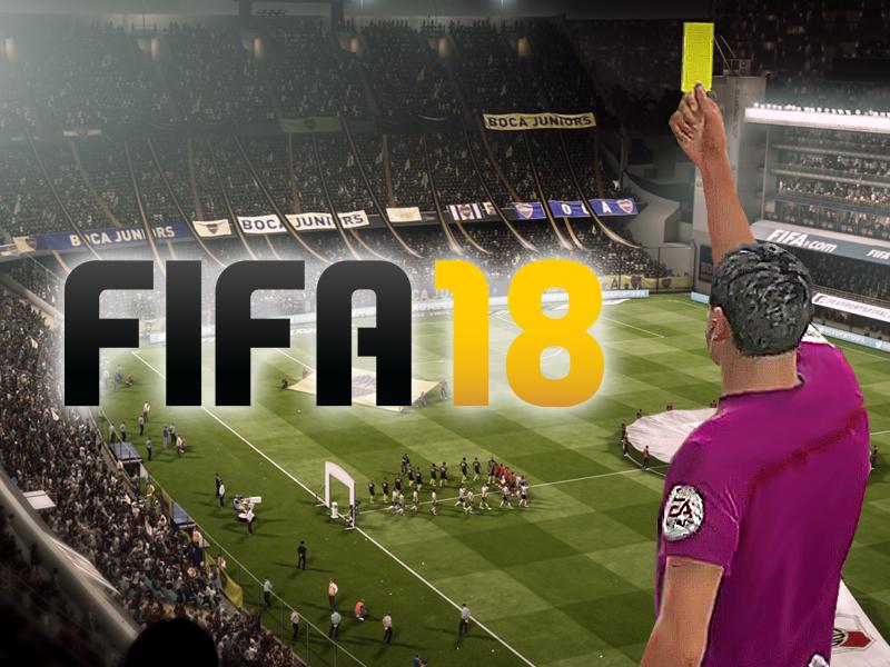 Schiedsrichter in FIFA 18 werden verbessert
