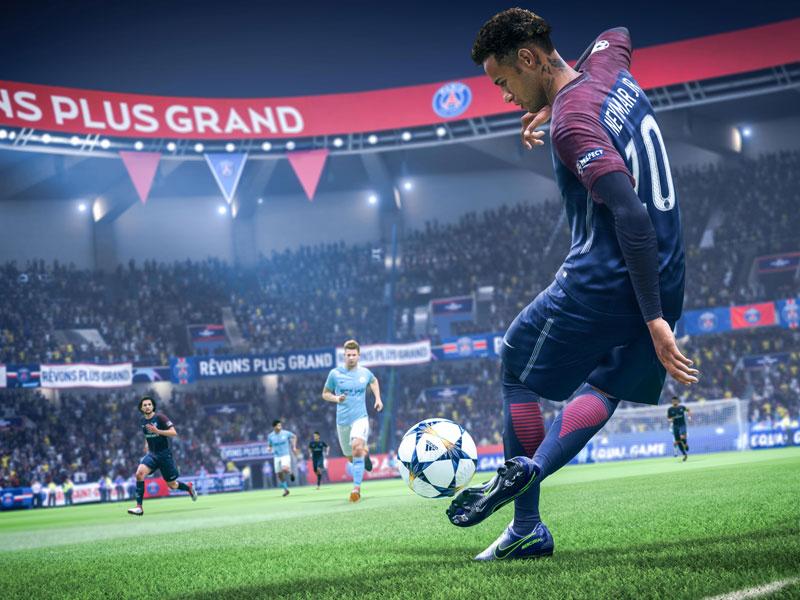Fähigkeitsspezifische Animationen, wie Neymars Trap sind mit den neuen First-Touch-Tools möglich.