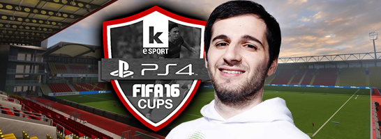 Erhan 'Dr. Erhano' Kayman qualifiziert sich f�r das kicker Cup Finale der ersten Saison!
