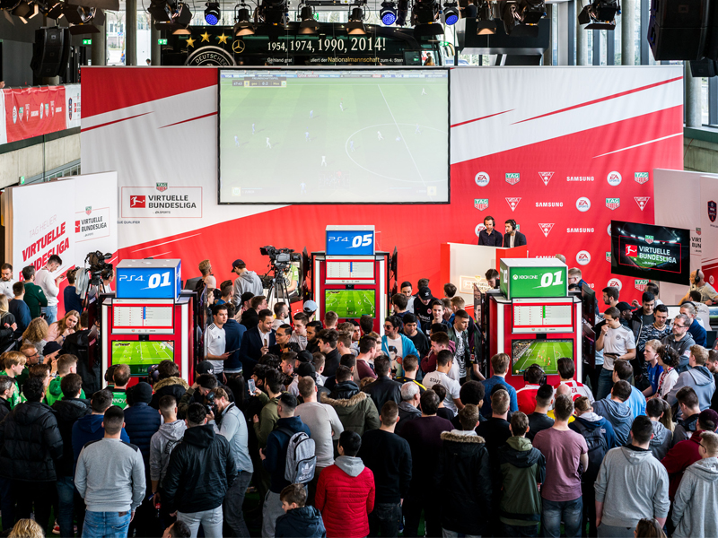 Das Event im Deutschen Fußballmuseum in Dortmund.