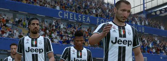 FIFA 17: Wir präsentieren die beste Aufstellung für Juventus Turin.