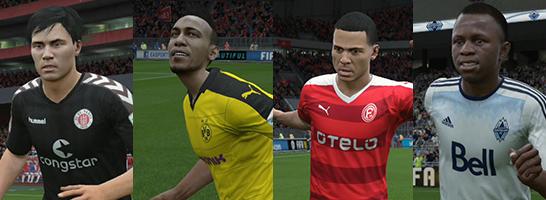Unter den 15 schnellsten Spielern in FIFA 16 ist auch ein deutsches Trio.